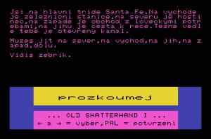 Shatterhand I – město