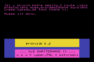 Shatterhand II – stařec